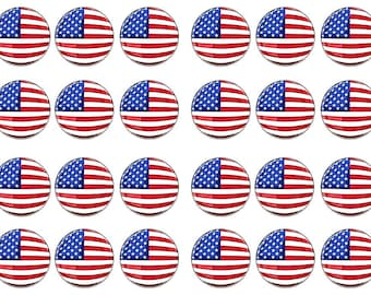 USA cake toppers