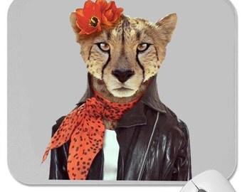 Cheetah mouse pad custom design hot news free shipping
