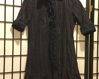 Pinkyotto Flannel Dress - X-small