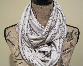 LOTR One Ring Infinity Scarf
