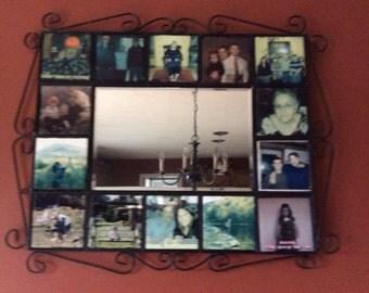 Tile Framed Mirror