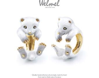 Cotton polar bear ring