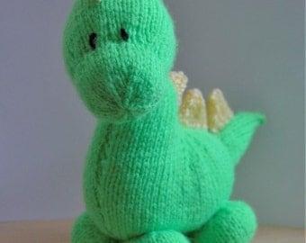 Barney Dinosaur Knitting Pattern : Dinosaur pattern Etsy