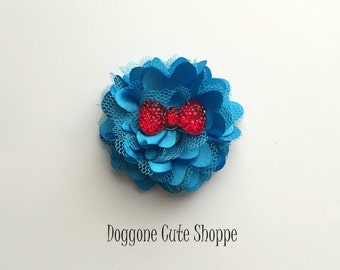 Dog Collar Flower Accessory