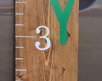 Personalized Growth Charts (any color paint)