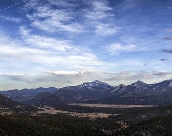 Rocky Mountain Panoramic Photo Print
