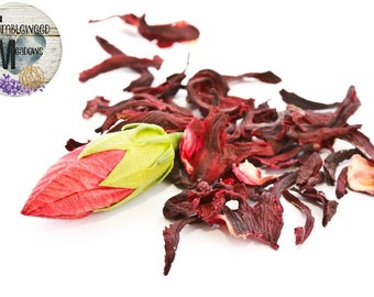 Organic Dried Hibiscus Flower 4oz