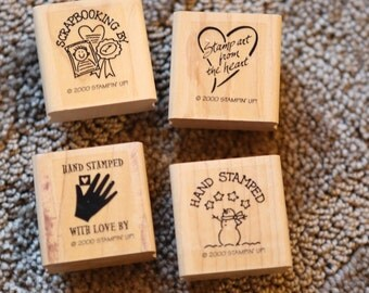Retired! Stampin' Up Stamped with Love Set ©2000