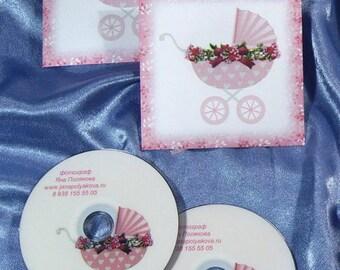 DVD paper box