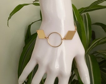 Bracelet ring Plated Gold