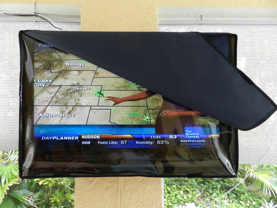 73 82 Outdoor Waterproof TV Cover Invisible Clear Model