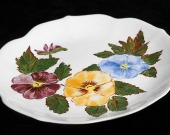 Handmade ceramic dish
