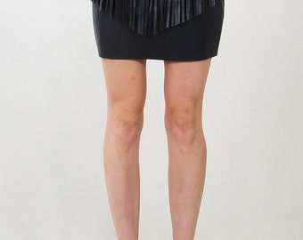 Wild West Fringe Skirt