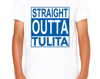 Straight Outta Tulita, Youth Short Sleeve TShirt, Bella and Canvas Youth, Custom, Tulita Elementary