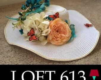 La Primavera Spring Tea Party Hat
