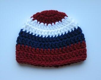 Crochet Newborn Hat/Crochet Baby Hat/Crochet Beanie/Crochet Winter Hat/Crochet Baby Gift/Crochet Bot Hat / Crochet Girl Hat