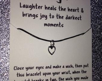 Laugh wish bracelet
