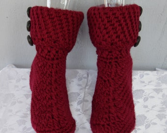 Ruby Red Boot Slippers