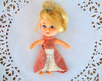 Vintage Hasbro Storykins Doll Cinderella Doll Fairy Tale Doll Bendable Doll 1967 collectible Doll Child Toy