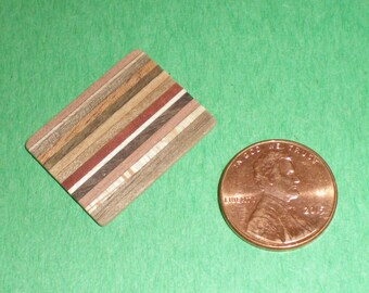 Wooden Dollhouse Miniature Cutting Board Of Various Woods