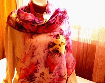 "scarf ""Fairy flower's """