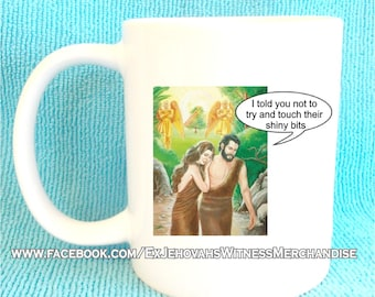 Funny My Book Of Bible Stories mugs - Ex-JW, APOSTATE mugs, Ex Jehovahs Witness