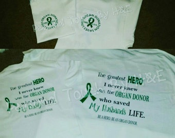 Organ Donation Saves Lives shirt