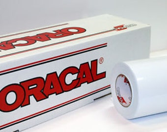 "Oracal 651 White Adhesive Vinyl 12 x 12"" Sheets"