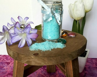 Congestion Relief Bath Salts. Essential oils