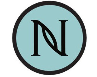 Nerium Logo stickers -24 0n a sheet