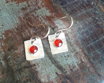 The Roxy. Handcrafted Sterling Silver Earrings.
