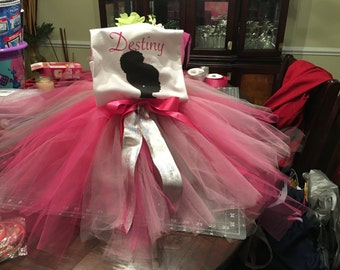 Tutu with personalized shirt