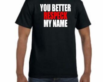 Birdman Respeck My Name T-shirt