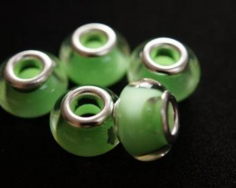 5 pearls European style pandora multicolor