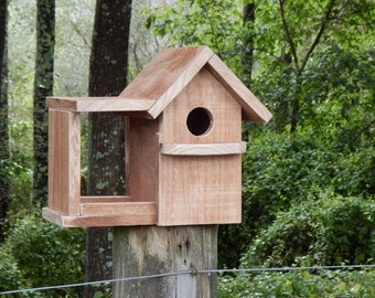 Nesting Box and Feeder