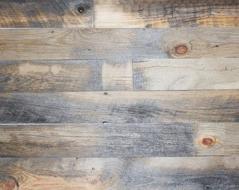Barn Wood Siding for Accent Wall (Skip Plained)