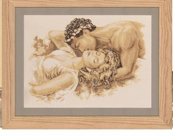 Vervaco Counted Cross Stitch Kit - The Kiss