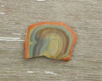 Royal Imperial Jasper slice cab cabochon, great specimen with vivid color