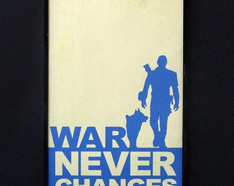 Fallout Minimalist Poster - 'War Never Changes'. Fallout Video Game Poster. Free shipping!