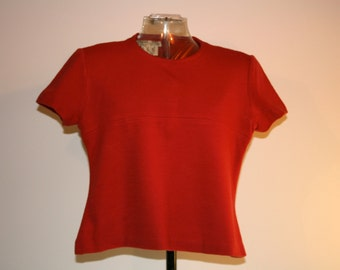 Vintage original Hardy Amies blouse top 1960s dressmakers to The Queen by Appointment