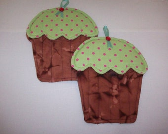 Cupcake Pot Holder