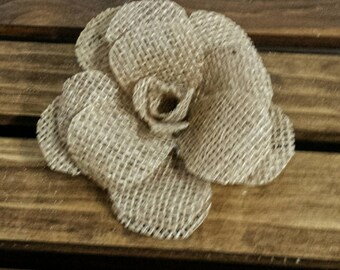 Burlap Rose, Burlap, Burlap Flowers, Country Wedding Decor, Burlap Decor, Burlap Wedding Flowers, Baby Shower Decor