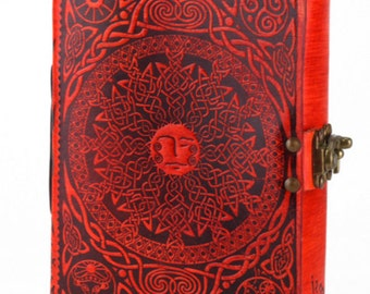 Celtic Mother Moon and Father Sun Journal