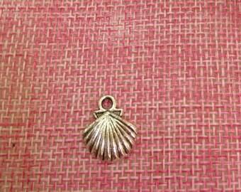 5 shell-shaped charm