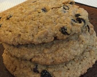 Home made Oatmeal Raisan Cookies