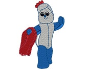 In the Night Garden IGGLE PIGGLE Machine Embroidery Design Instant Download Hoop Size 4x4