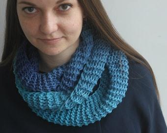 Cotton spring scarf