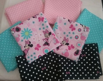 Disney Minnie Mouse fat quarter coordinate bundle 2 total yards