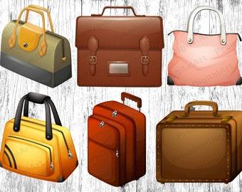 Handbag clipart | Etsy