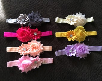 Baby girl Infant Flower Headband